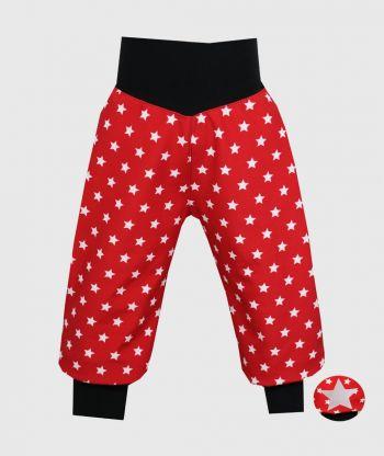 WATERPROOF SOFTSHELL PANTS STARS RED